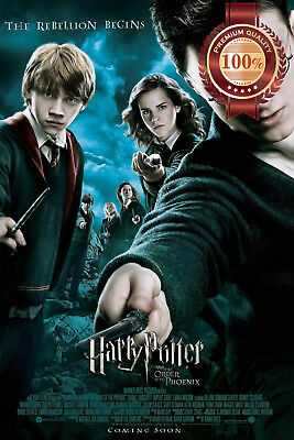 New Harry Potter And The Order Of The Phoenix Movie Film Print Premium Poster