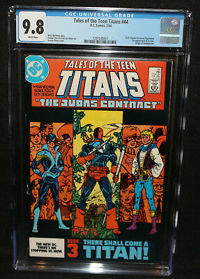 Tales of the Teen Titans #44 - Dick Grayson becomes Nightwing - CGC 9.8 - 1984