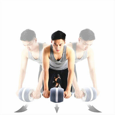 Perfect Fitness Ab Carver Pro Exercise Wheel Roller Six Pack Abs Workout Gym AU