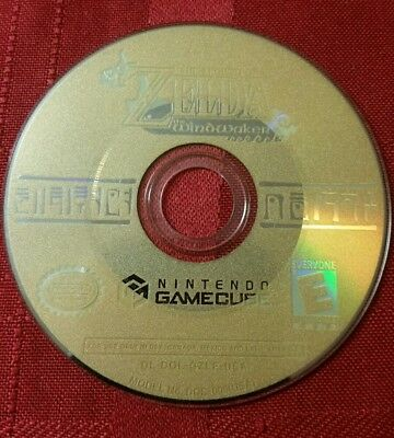 Legend of Zelda: The Wind Waker (Nintendo GameCube, 2003) disc only