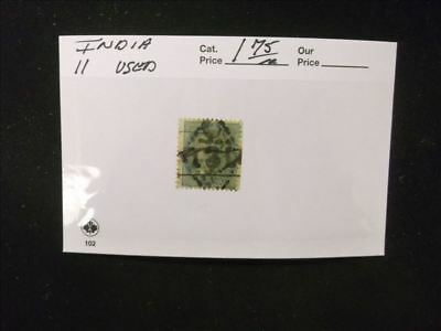 2993 India Stamp Pack #11 Used