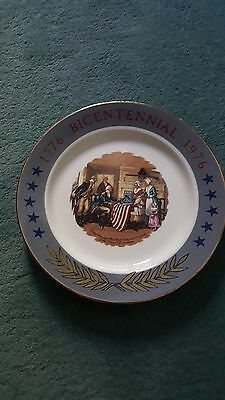 1776 - 1976 Bicentennial Plate - Betsy Ross - Sabina Line Lmt Edition - Free S/h