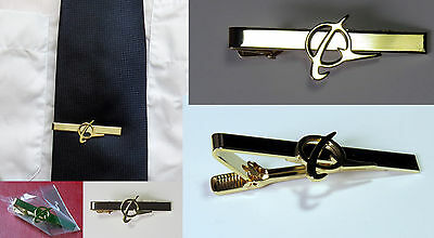 Tiebar Tie ClaspTie Clip Bar Boeing Company GOLD with logo for Pilots Crew