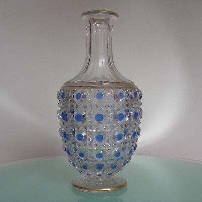 Carafe Baccarat Diamants Pierreries Antique Decanter Bottle