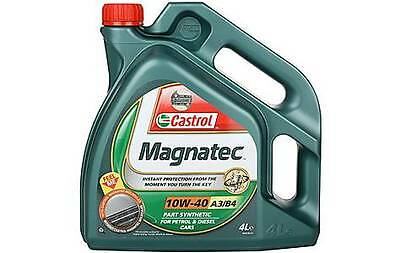 Castrol Magnatec 10W40 Part Synthetic Car Engine Oil 4L 4 Litre Diesel Petrol