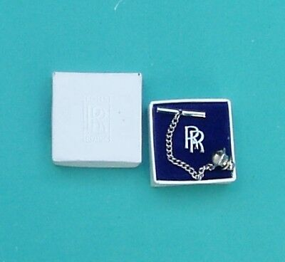 Rolls Royce Pin Badge, With Chain  Boxed, Rolls Royce Supplied Product