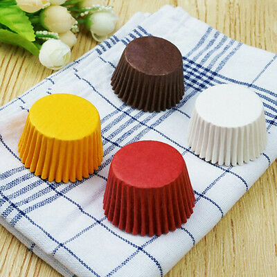 480X Cupcake Paper DIY Cake Muffin Baking Cups Cases Liners Home Kitchen M&C
