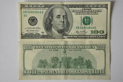 100 USD Banknote 2006A One Hundred Dollars USA UNC