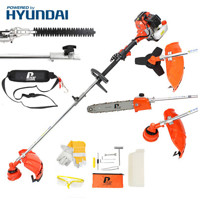 Powered by Hyundai P1PE P5200MT 52cc Petrol Garden Multi-Tool Cutter Strimmer
