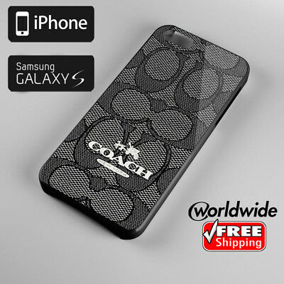 879Coach4i88s NEW YORK CHARLIE Logo For Iphone & Samsung Galaxy Case Cover