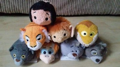 Disney Store Complete Set - The Jungle Book Tsum Tsums