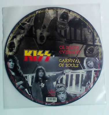 KISS Head / Carnival Of Souls Picture LP Lim. Edition 1996