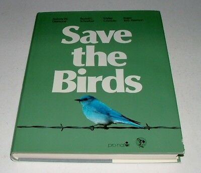 Large Save The Birds World Campaign Book - Cronkite-Diamond-Peterson-Schreiber