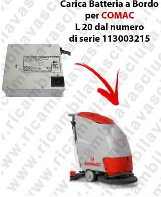 Onboard Battery Charger for scrubber dryer COMAC L 20 from serial number 1130032