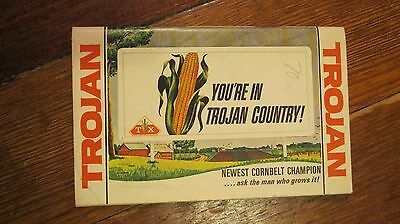 Vintage Seed Corn Pocket Memo Pad Farm Notebook,You're in Trojan Country!