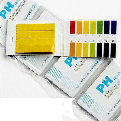 160 Litmus Paper Test Strips Alkaline Acid pH Indicator Testing Kit Test Paper