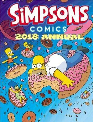 Simpsons Annual 2018 (Annuals 2018) by Matt Groening Book The Cheap Fast Free
