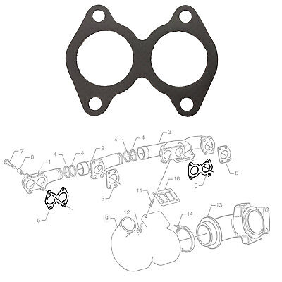1 X Intake Exhaust Manifold Left Side Gasket Seal Fits Scania,neoplan, 378264