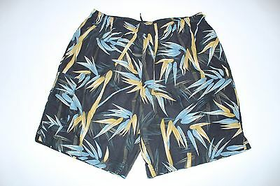 Paradise Collection Mens XL Swimming Trunks Floral
