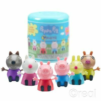 New 1 3 5 Or 10 Peppa Pig Series 1 Blind Mash'ems Mini Figure Squishy Official