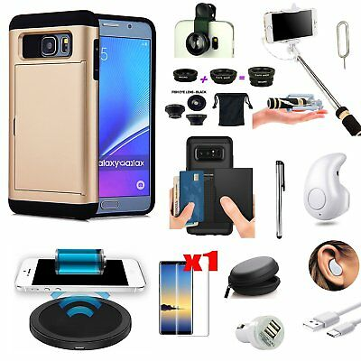 11 PCS Case Qi Wireless Charger Headset Monopod Fish Eye For Samsung Galaxy S8