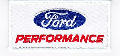 Ford Performance Sew/iron On Patch Badge Embroidered Shelby Cobra Mustang Racing