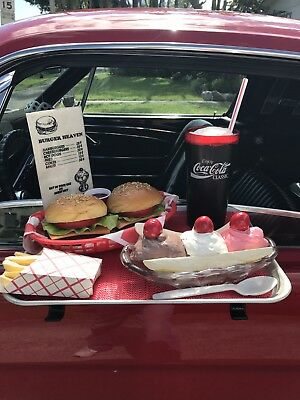 NOSTALGIA !!!! Drive-in carhop Tray