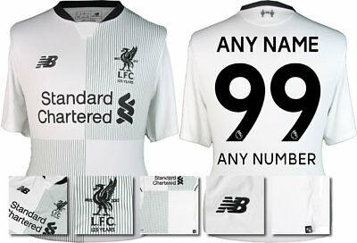 72a272d9410 17   18 - New Balance  Liverpool Away Shirt Ss   Personalised 99   Adults