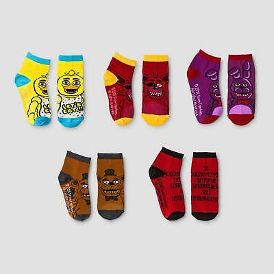 Kids' Five Nights at Freddy's Ankle Socks S/M