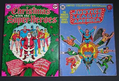 DC Special Collector's Edition, Justice League (1976) and Christmas Issue (1975)