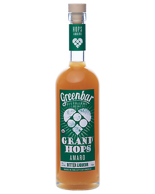 Grand Hops Organic Amaro Bitter Liqueur 750mL bottle Bitter Liqueurs