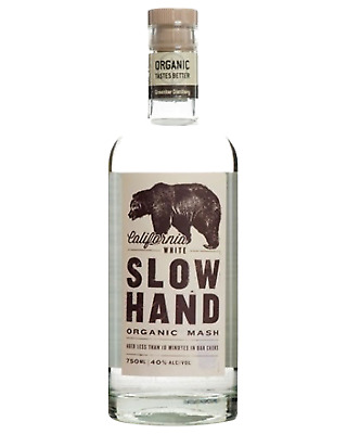 Slow Hand White Organic Rum 750mL bottle American Whiskey