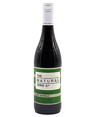 The Natural Wine Co  Organic Shiraz case of 12 Dry Red 750mL