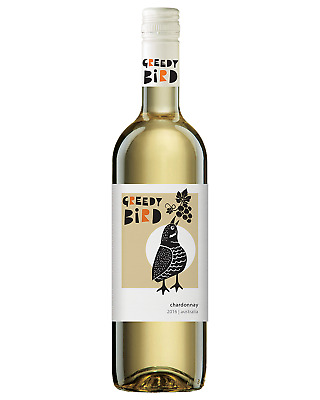 Greedy Bird  Chardonnay bottle Dry White Wine 750mL