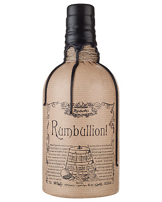 Ableforths Rumbullion Spiced Rum 700mL case of 6