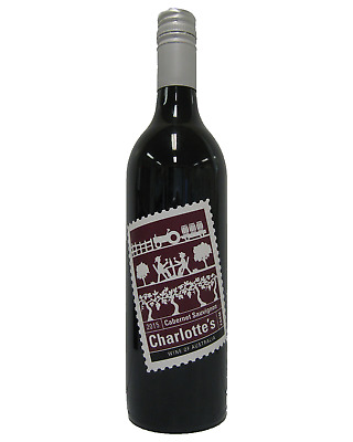 Charlottes Cabernet Sauvignon case of 6 Dry Red Wine 750mL