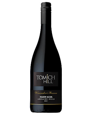 Tomich Hill Winemaker's Reserve Pinot Noir 2015 case of 6 Dry Red Wine 750mL