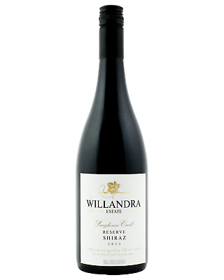 Willandra Reserve Shiraz case of 6 Dry Red Wine 750mL Langhorne Creek