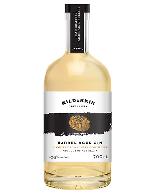 Kilderkin Distillery Barrel Aged London Dry Gin 700mL bottle