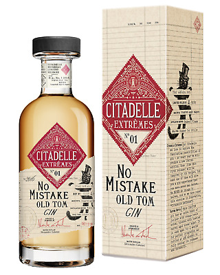 Citadelle No Mistake Old Tom 750mL bottle Gin Dry Gin