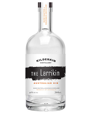 Kilderkin Distillery The Larrikin Australian Gin 700mL case of 6