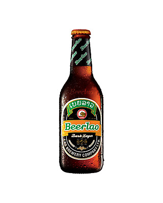 Beerlao Dark Premium Dark Beer 330mL case of 24 International Beer