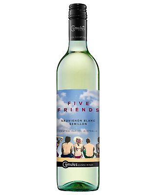 Five Friends Semillon Sauvignon Blanc 2016 case of 6 Dry White Wine 750mL