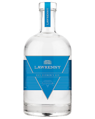Lawrenny Estate Van Diemen's Gin case of 6 Premium Gin 700mL Tasmanian
