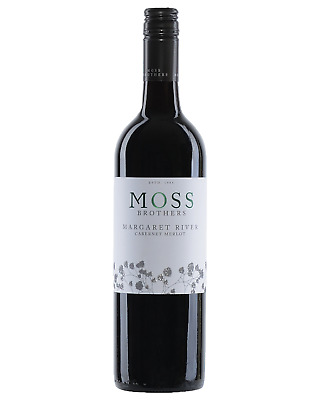 Moss Brothers Cabernet Merlot 2016 case of 12 Dry Red Wine 750mL