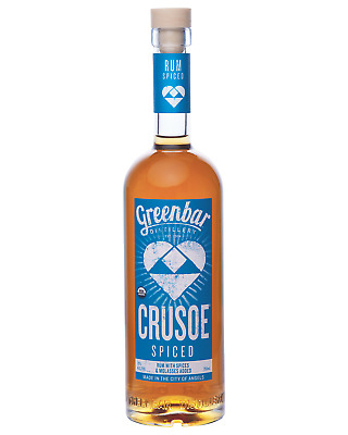 Crusoe Organic Spiced Rum 750mL bottle