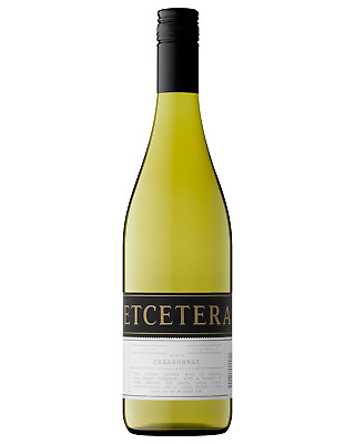 Etcetera Chardonnay case of 6 Dry White Wine 750mL