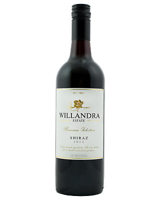 Willandra Premium Shiraz case of 6 Dry Red Wine 750mL Langhorne Creek, Gundagai