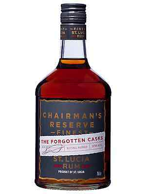 Chairmans Reserve The Forgotten Casks Rum 700mL case of 6 Dark Rum West Indies