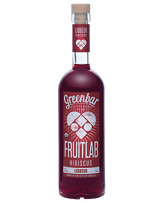 FruitLab Organic Hibiscus Liqueur 750mL bottle Fruit Liqueurs